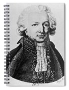 Louis-antoine, French Explorer Spiral Notebook