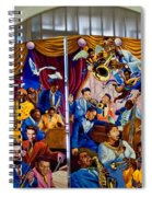 Louis Armstrong Airport Spiral Notebook