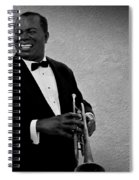 Louis Armstrong Bw Spiral Notebook
