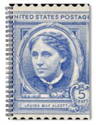 Louisa May Alcott (1832-1888) Spiral Notebook