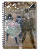 Louise Weber (1866-1929) Spiral Notebook