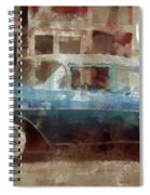 Lounge Lizard Spiral Notebook