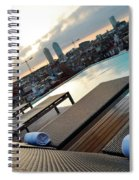 Lounging Poolside Spiral Notebook