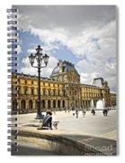 Louvre Museum Spiral Notebook