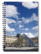 Louvre Museum. Paris Spiral Notebook