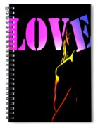 Love And Shadows Spiral Notebook