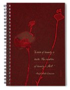 Love Art 4 Spiral Notebook