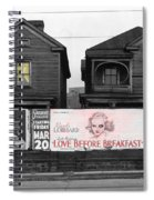 Love Before Breakfast Spiral Notebook