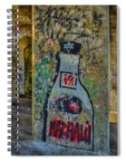 Love Graffiti Spiral Notebook