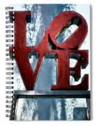 Love In The Afternoon Spiral Notebook