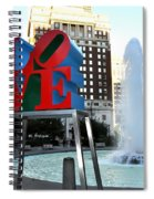 Love Is ..... A Four Letter Word Spiral Notebook