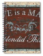 Love Is A Many Splendid Thing Spiral Notebook