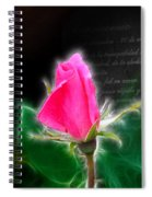 Love Is Electrifying Spiral Notebook
