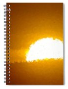 Love Is The Sunshine Spiral Notebook