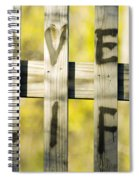 Love Life Spiral Notebook
