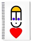 Love Note Spiral Notebook
