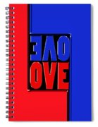 Love Squared Spiral Notebook