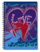Love Triumphant 2nd Of 3  Spiral Notebook