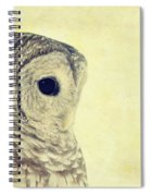 Lovely Lucy Barred Owl Spiral Notebook