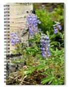 Lovely Lupine Spiral Notebook
