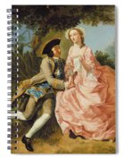 Lovers In A Landscape Spiral Notebook