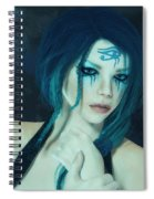 Loving Blue Hair Spiral Notebook