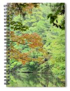 Loving The Season Of Autumn Spiral Notebook