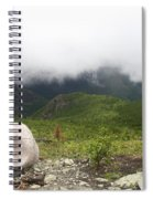 Low Clouds, Quebec Spiral Notebook