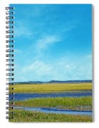 Low Country Marsh Spiral Notebook