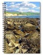 Low Tide At Gaviota Spiral Notebook