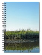 Low Tide In The Tidal Creek Spiral Notebook
