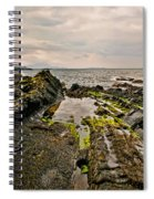 Low Tide Rocks Spiral Notebook