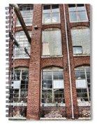 Lowe Mill Art Studios Huntsville Alabama Usa Spiral Notebook