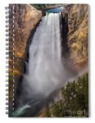 Lower Falls II Spiral Notebook