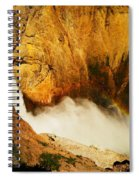 Lower Falls Yellowstone River Spiral Notebook