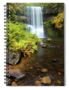Lower South Falls Spiral Notebook