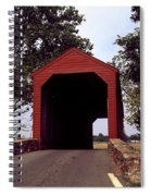 Loy's Station Covered Bridge Spiral Notebook