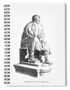 Lucius Annaeus Seneca Spiral Notebook