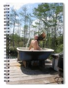 Waterfalls 664 Spiral Notebook