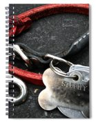Lucky Red Lead Spiral Notebook