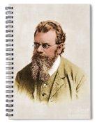 Ludwig Boltzmann, Austrian Physicist Spiral Notebook