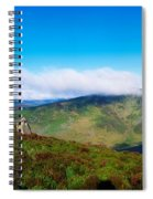 Luggala And Lough Tay, Co Wicklow Spiral Notebook