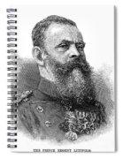 Luitpold (1821-1912) Spiral Notebook