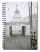 Lukla In The Himalaya Spiral Notebook