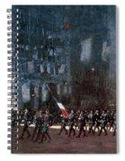 Luks - Blue Devils 1918 Spiral Notebook