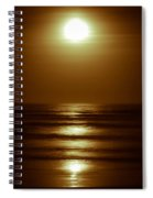 Lunar Tides I Spiral Notebook