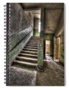 Lunatic Stairs Spiral Notebook