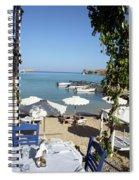 Lunch On The Mediterranean  Spiral Notebook