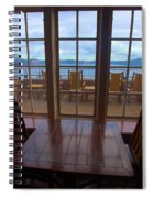 Lunch With A View Spiral Notebook