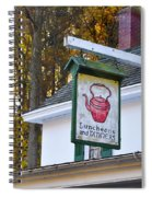 Luncheons And Dinners Spiral Notebook